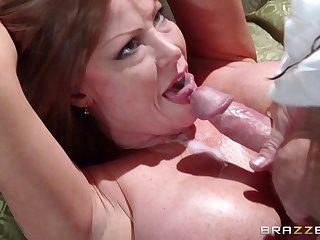 Adult pornstar Darla Crane loves to suck a dick enquire about sexual connection