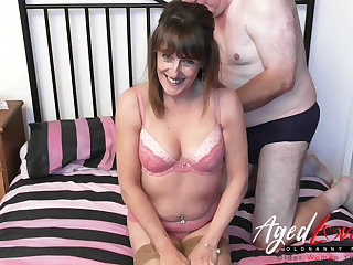 AgedLove sex orgy consortium with very hot housewife Pandora