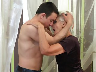 Of age gets steamy with nephew's big dick