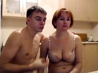 MILF Fucking with Young Boy MILF Young b ne