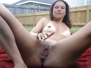 Milf Gets Caught By Spying Neighbors