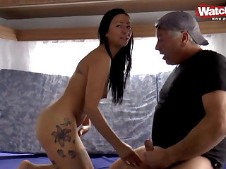 MILF HAS OUTDOOR SEX Concerning STRANGER
