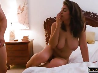 Bodacious Babe Rides A Male Stick Before Possessions Rammed Doggy Style