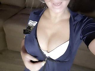 Off colour jerk off instructions detach from hot blonde Russian pornstar