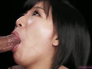 pov asian blowjob