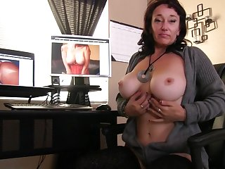 Sugar Appealing licks her nipples while fingering her juicy pussy
