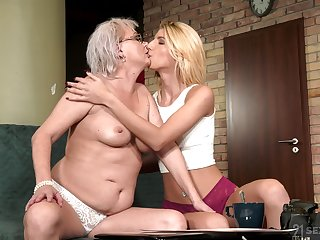 Screen of age shares intimate moments with her lesbian niece