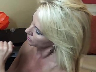 Big assed busty knocker fuck and blowjob