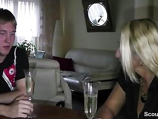 German Mom Teach Step-Son to Have sexual intercourse at 18yr old Birthday