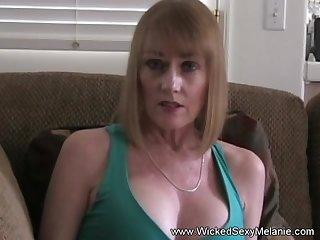 Wicked Sexy Melanie is eradicate affect best granny cocksucker around.