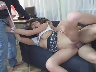 Cheating exgf tiedup and pounded