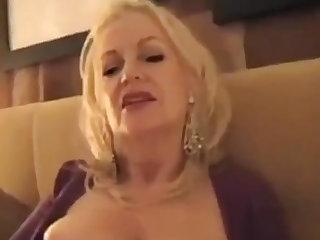 Fancy man & Beneficent GILF - Inn Old Prostitute Blowjob