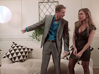 Perverted the man Britney Amber uses will not hear of sexy melons be fitting of awesome titjob