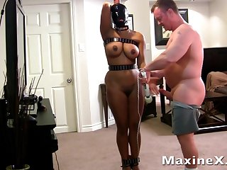 busty submissive mom in bondage fucked by their way master - bdsm