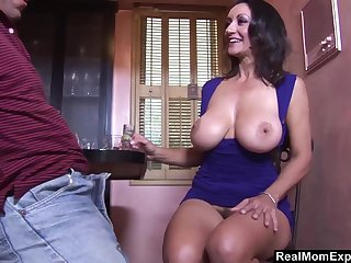 Having drinks mature lady Persia Monir lures stud be proper of random fuck