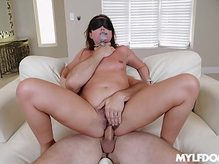 Milf gets dirty in full hardcore with a dominant lover